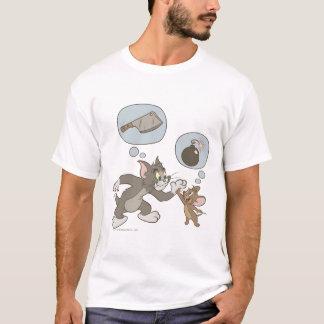 Camiseta Pensamientos del mal de Tom y Jerry