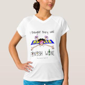 Camiseta Pensé que dijeron el vino del final - campeón SS
