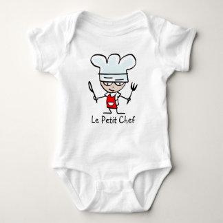Camiseta pequena del dibujo animado del cocinero