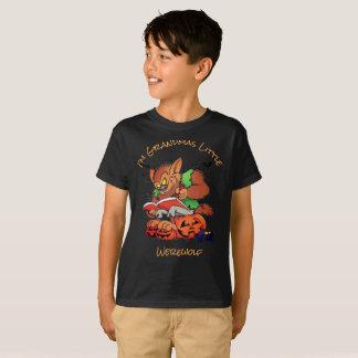 Camiseta Pequeño hombre lobo de las abuelas