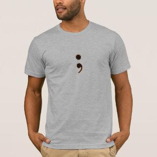 Camiseta pequeño-logotipo del og con la frontera anaranjada