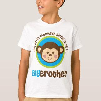 Camiseta Pequeño mono que va a ser un hermano mayor