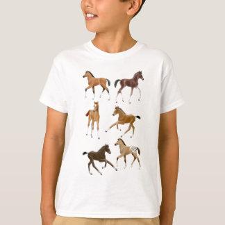 Camiseta Pequeños potros lindos