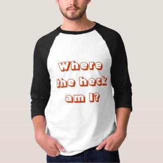 Camiseta Perdido en el medio maratón 2014 de Northshore
