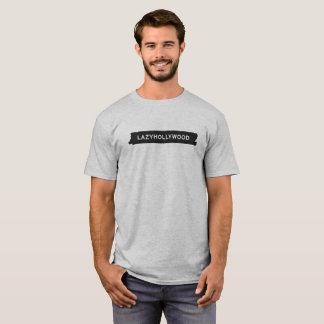 Camiseta perezosa del garabato de Hollywood