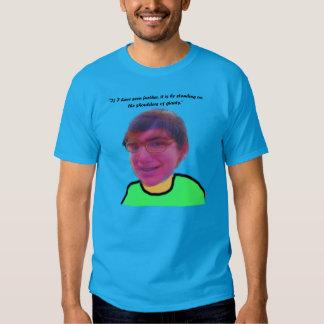 Camiseta perfecta de la fusión
