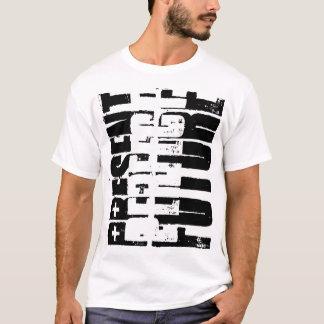 Camiseta Perfecto futuro.  Actual perfecto.  Tiempo