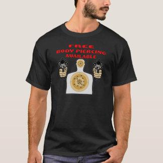 Camiseta Perforación del cuerpo libre disponible con los