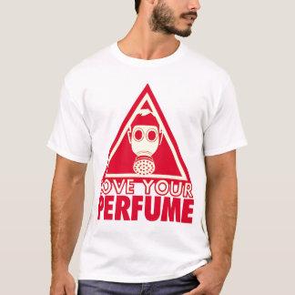 Camiseta Perfume Gasmask (unilateral)
