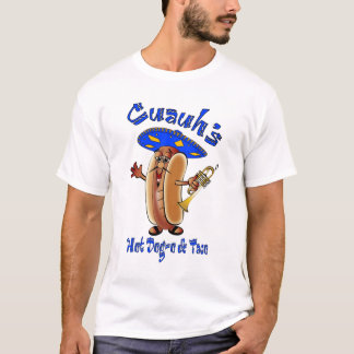 Camiseta Perrito caliente del Mariachi en tan
