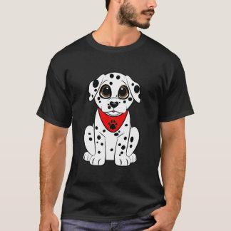 Camiseta Perrito dálmata con la nariz en forma de corazón