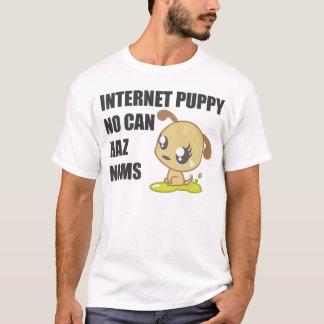 Camiseta Perrito del Internet - luz