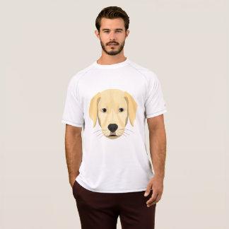 Camiseta Perrito Retriver de oro del ilustracion