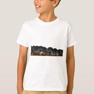 Camiseta Perritos de Rottweiler