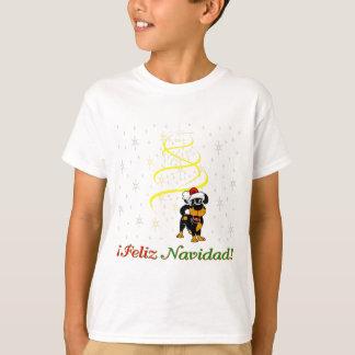 Camiseta Perritos del navidad