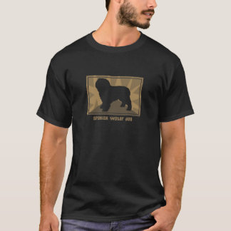 Camiseta Perro de agua español terroso