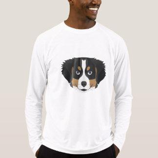 Camiseta Perro de montaña de Bernese del ilustracion