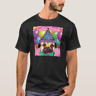 Camiseta Perro del fiesta del barro amasado