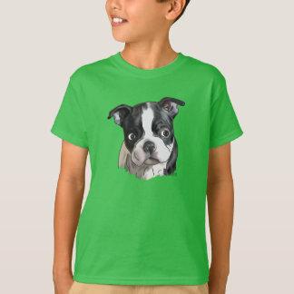 Camiseta Perro lindo de Boston Terrier