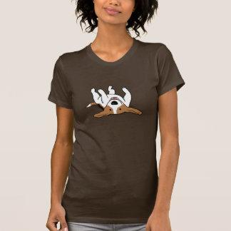 Camiseta Perro lindo del dibujo animado del beagle