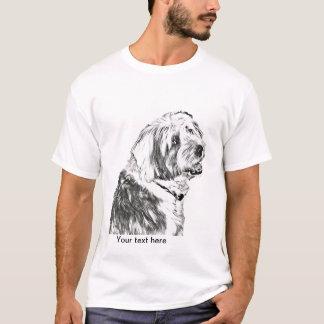 Camiseta Perro pastor inglés viejo