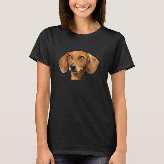 Camiseta Perro rojo del Dachshund
