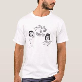 Camiseta Perro y Sr. B Opening Logo Shirt del violoncelo