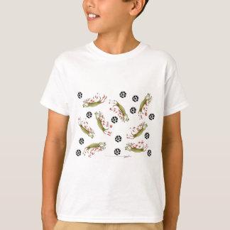 Camiseta perros del fútbol de los rojos