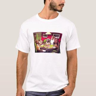 Camiseta PERROS del PÓKER de C.M. Coolidge - modificado