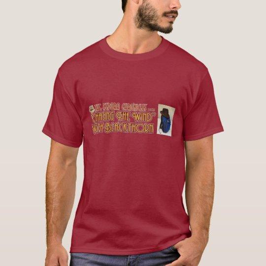 """Camiseta """"Persiguiendo el viento"""" con el endrino"""