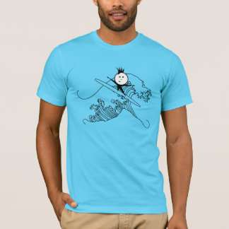 Camiseta Persona que practica surf Dewey