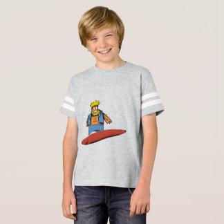 Camiseta Persona que practica surf feliz s