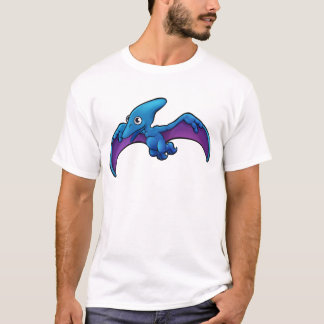 Camiseta Personaje de dibujos animados del dinosaurio del