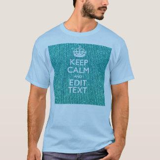 Camiseta Personalice GUARDAN fácilmente CALMA Y corrigen el