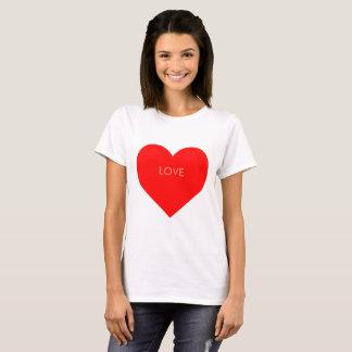 Camiseta Personalisierbares corazón