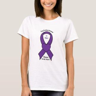 Camiseta Personalizable del nombre del corazón de la