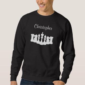 Camiseta personalizada del ajedrez para los