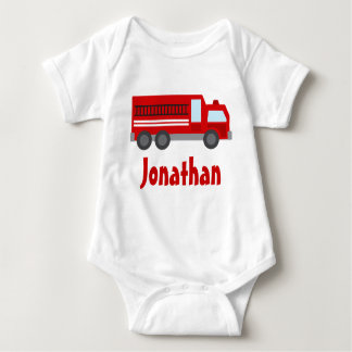 Camiseta personalizada del bebé del coche de