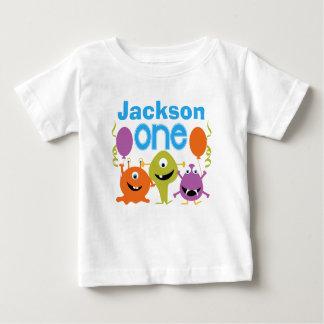 Camiseta personalizada del cumpleaños de los