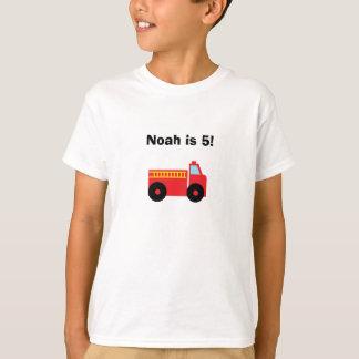 "Camiseta personalizada del ""Firetruck"""