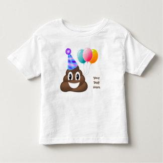 Camiseta personalizada del niño de Emoji del