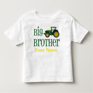 Camiseta personalizada tractor de hermano mayor