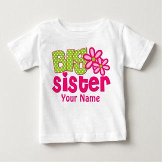 Camiseta personalizada verde del rosa de la