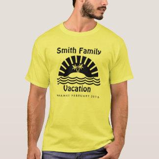 Camiseta Personalizado a juego de las vacaciones de familia