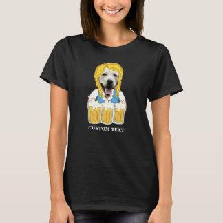 Camiseta Personalizado amarillo divertido del amante de la