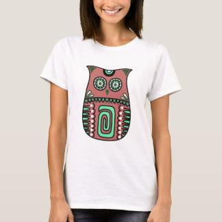 Camiseta Personalizado bohemio del pájaro de Boho del búho