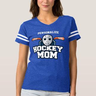Camiseta Personalizado de la mamá del hockey