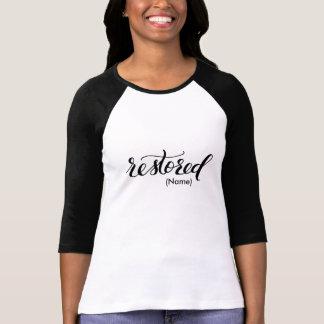 Camiseta Personalizado restaurado