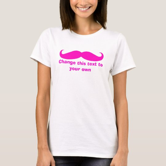 Camiseta Personalizar del bigote él