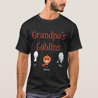 Camiseta Personalized Grandpa's Goblins T-Shirt